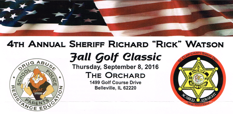 4th annual sheriff rick watson fall golf classic