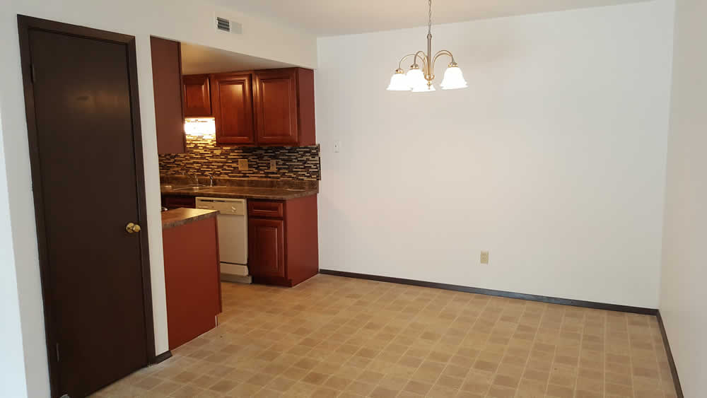 apartment kitchen and dining room in Belleville IL