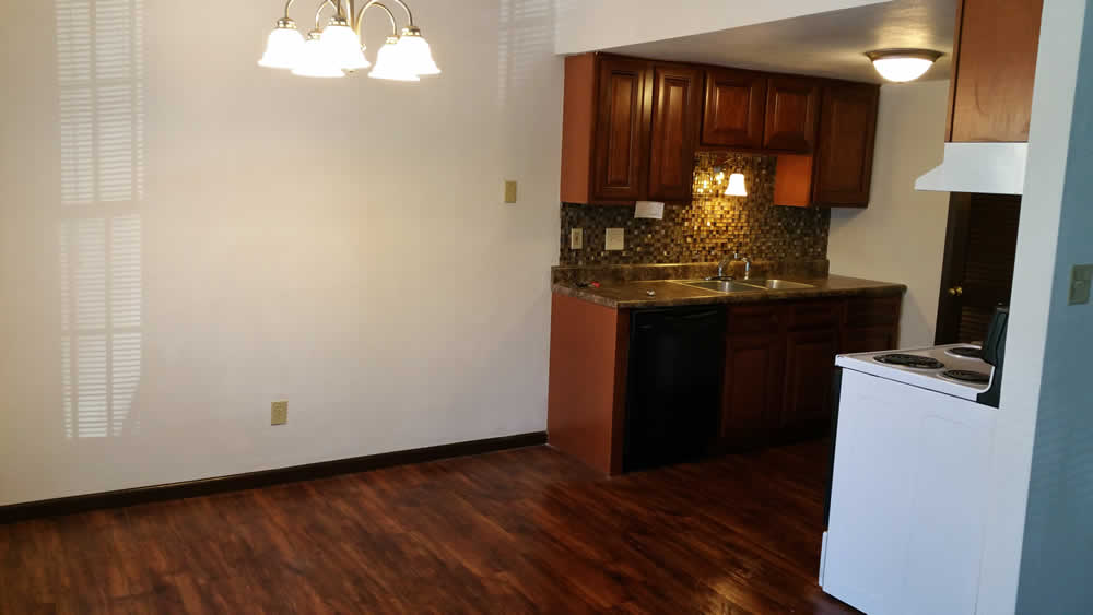 apartment kitchen in Belleville IL