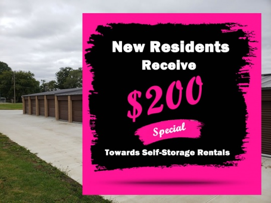 $200 towards bouse self storage