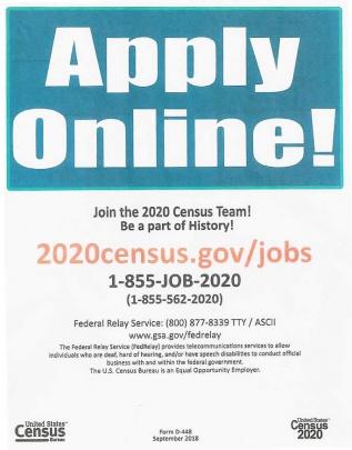 2020 Census job