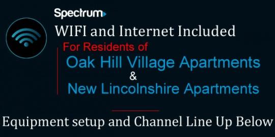 Spectrum Bouse Bundle channel line up
