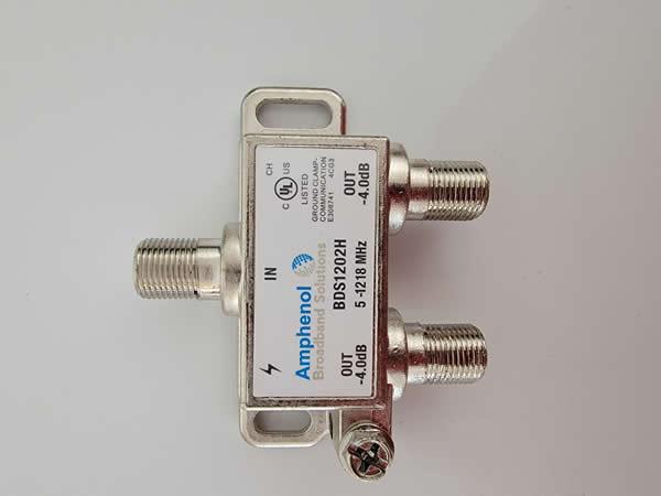 Spectrum coax splitter